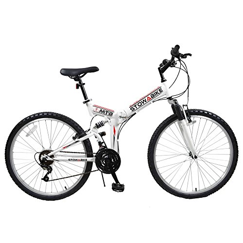 Stowabike 26' MTB V2 Folding Dual Suspension 18...