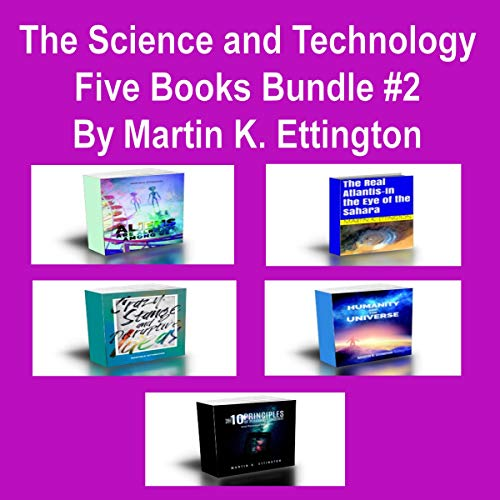 The Science and Technology Five Books Bundle #2 audiobook cover art