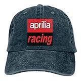 eeer Customized Printing Breathable Dad-Hat Aprilia Racing Logo Funny Baseball Cap Sombreros y Gorras