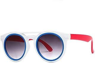 TYJYTM - Diseñador Niños Gafas de Sol Niños Niñas Bebé Bebé Gafas de Sol Gafas 100% UV400 Sombras para niños Gafas para niños