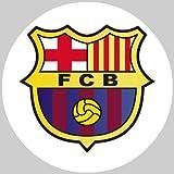 Tortenaufleger Tortenfoto Aufleger Foto Bild Fußball Barcelona rund ca. 20