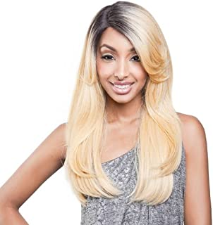 ISIS BROWN SUGAR Human Blended Lace Front Wig - BS201 (#1B - Off Black)