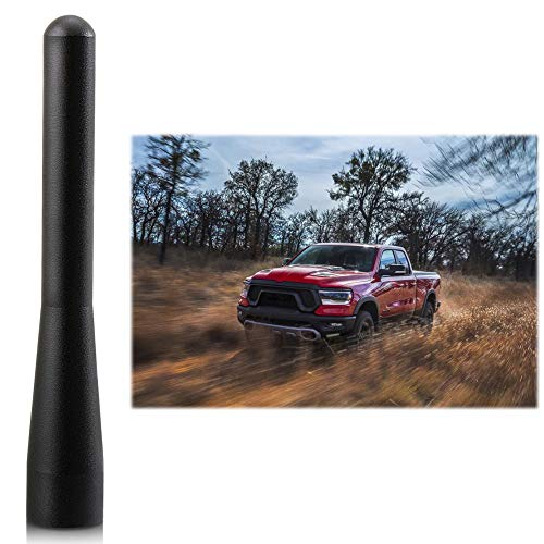 Stubby Antenna Replacement Fit for Dodge RAM 1500 2500 Trucks 2009-2019 Accessories| 4 inches