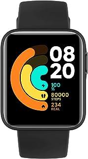 ساعة ذكية شاومي مي لايت بلون اسود - شاشة لمس 1.4 انش، مقاومة للماء حتى 50 متر، عمر بطارية 9 ايام، نظام تحديد المواقع GPS،...