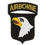 Parche de la Fuerza Aérea del Ejército de la Marina Adornos para Costura, Manualidades, Decoración de tela bordada con parches bordados para planchar en bolsas de regalo de boda, Airborne
