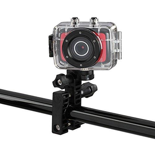 Clip Sonic Technology x97pc de cámara de acción HD Negro/Rojo
