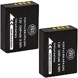 BM Premium 2 Pack of NP-W126S High Capacity Battery for Fujifilm FinePix X-T100, XT-200, X-100F, X-100V X-A7, X-H1, X-T10, X-T20, X-T30, X-A2 X-A3 X-A5 X-A10 X-E1 X-E2 X-E2S X-E3 X-T1 X-T2 X-T3 Camera