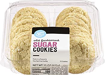 Amazon Brand - Happy Belly Old Fashioned Sugar Cookies, 15 oz