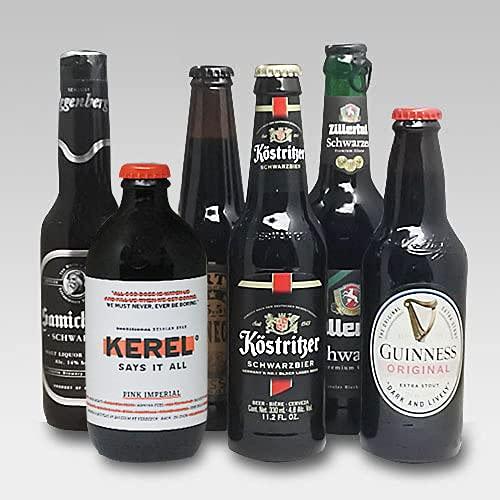 【即日発送】人気黒ビール6種(ケストリッツァー シュヴァルツビア・カーネギーポーター・サミクラウススタウト 他)6本セットC[飲み比べセット] (誕生日ギフト)