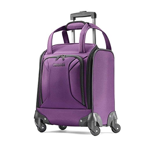 American Tourister Zoom Softside Luggage, Purple, Tote
