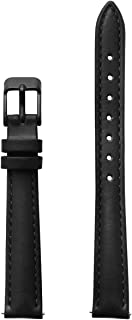 Women's La Vedette Black Leather Strap CLS511 Fits: La Vedette Case 24mm