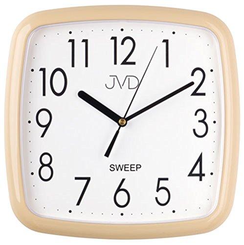 JVD HP615.10 Wanduhren klassisch Bürouhren Geräuschlose Uhren