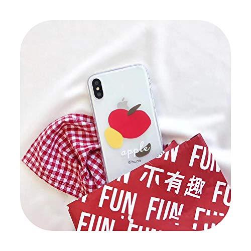 N/A Art Schutzhülle für iPhone 11 Pro Max Xr Xs Max X 7 7 Puls 6 6S 7 8 Puls Weiche TPU-Hülle