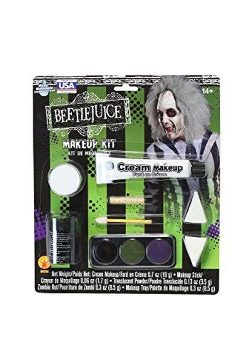 Rubie's Deluxe Beetlejuice Makeup Kit Standard