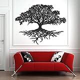HGFDHG Pared de Vida Creativa Raíces de árboles Pegatinas de Pared Naturales Decoración de la habitación Interior del hogar Árbol de Arte de Vinilo