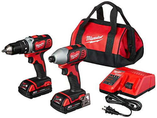 MILWAUKEE'S 2691-22 18-Volt Compact Drill and Impact Driver Combo Kit