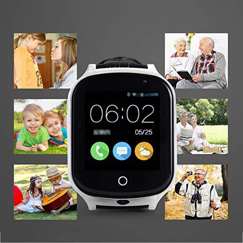 Montre De Positionnement Intelligente, Cadeau De Montre De Téléphone pour Enfants Et Personnes Âgées, Montre Tactile Plein Écran