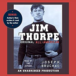Jim Thorpe, Original All-American cover art