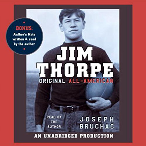 Jim Thorpe, Original All-American audiobook cover art