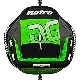 AQUAGLIDE Retro 2 Person Towable Tube, Green