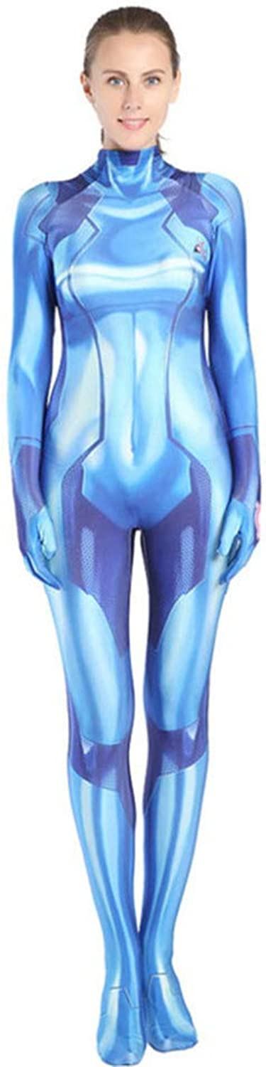 ASJUNQ Galaxy Warrior 3d Print Anime Costume Fancy Dress Party Theme Party Movie Props Halloween Cosplay Siamese Tights,AdultM
