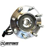 Kryptonite 8 Lug Replacement Wheel Bearing Compatible with 1999-2010 Chevy/GMC Silverado/Sierra 2500HD/3500HD SRW & DRW (99-07 Classic GM Truck 1500HD/2500/3500 SRW)