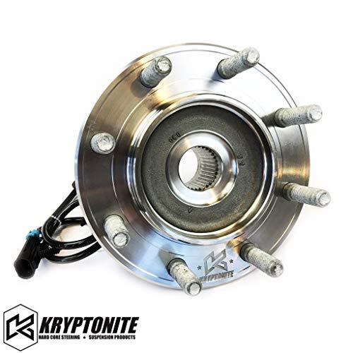 Kryptonite 8 Lug Replacement Wheel Bearing Compatible with 1999-2010 Chevy/GMC Silverado/Sierra 2500HD/3500HD SRW & DRW (99-07 Classic GM Truck 1500HD/2500/3500 SRW)