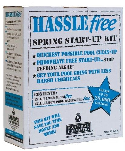 Natural Chemistry 08002 Hassle Free Open/Close Pool Cleaning Kit