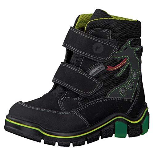 RICOSTA Pepino Jungen Winterstiefel GRISU, WMS: Weit, wasserfest, Winter-Boots Outdoor-Kinderschuhe gefüttert wasserdicht,schwarz,29 EU / 11 UK
