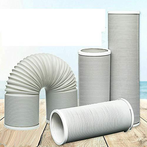 150cm 200cm 300cm Abluftschlauch Ø 13cm 15cm PP für Mobil Klimaanlage Klimagerät (Ø 15cm,L 3M)