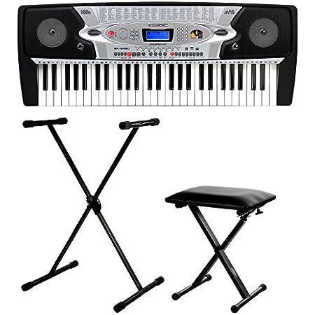McGrey BK-5420 teclado para principiantes set incl. soporte + banqueta