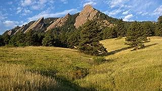 Home Comforts LAMINATED POSTER Boulder Chautauqua Front Range Colorado Flatirons Poster