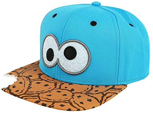 Difuzed Sesamestreet Cap Cookie Bite Snapback Blue