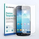 smartect Panzerglas kompatibel mit Samsung Galaxy S4 Mini [2 Stück] - Bildschirmschutz mit 9H Festigkeit - Blasenfreie Schutzfolie - Anti Fingerprint Panzerglasfolie