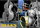 Klangbilder des Blues (Wandkalender 2021 DIN A2 quer): Stimmungsvolle Aufnahmen typischer Instrumente der Bluesmusik (Monatskalender, 14 Seiten )