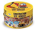 Construction site vehicles. Ediz. a colori. Con puzzle (Sassi junior)