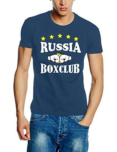 RUSSIA - RUSSLAND BOXCLUB T-Shirt stoneblue Gr.XL