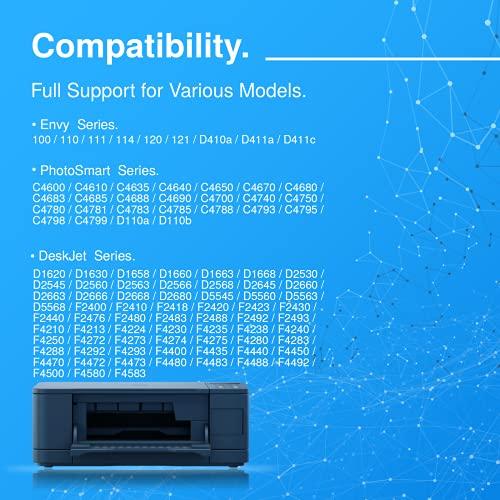 HavaTek 300 XL Negro Tricolor Remanufacturado Cartuchos de tinta para HP 300 300 XL para Hp Envy 120 100 110 114 Deskjet F2480 F4272 F4280 F4500 F4580 PhotoSmart C4680 C4780 Impresora 1-Negro 1-Color
