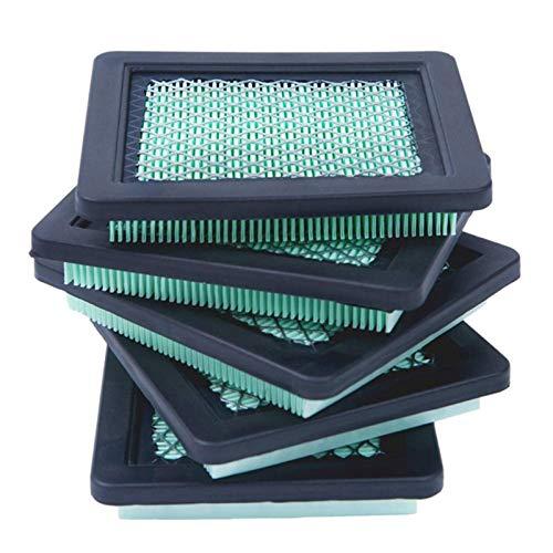 LiMePng 5 Paquete 17211-ZL8-023 Filtro de Aire, Ajuste para HON/DA GCV160 GCV190, Ajuste para Husqvarna 7021P, Limpiador de césped Premium cortadora de césped LiMePng