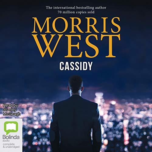 Cassidy audiobook cover art