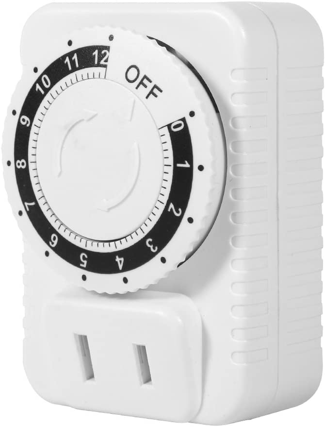 Charlotte Mall Electric Timer Socket Discount mail order Switch Wal Hour 1PCS 12