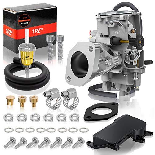 1PZ W35-IM1 Carburetor w/CNC Intake Manifold for Yamaha Warrior 350 YFM350X 1987-2004 ATV 4Wheeler Quad