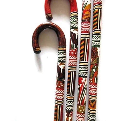 Carved Walking Sticks Amazoncom