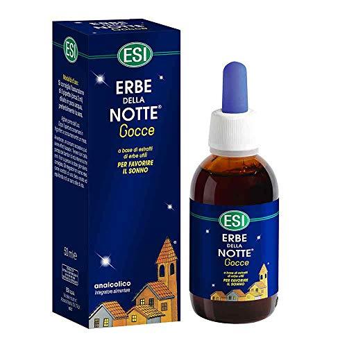 Esi Linea Sonno e Relax Erbe della Notte Integratore Analcolico Gocce 50 ml