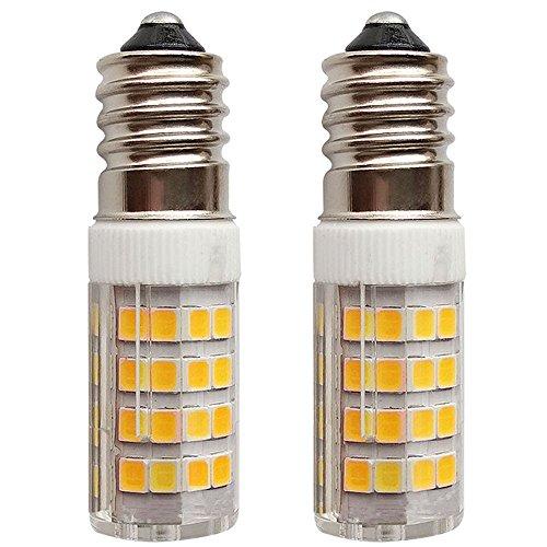SFTlite [2er Pack Warmweiß] 4W E14 LED Lampe 51 SMDs Nicht Dimmbar - Ersatz für 35W Halogenlampen - 400lm - 3000K - 360°Abstrahwinkel - LED Leuchtmittel SES E14,Edison Schraube LED Birnen 220-240VAC