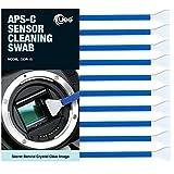 UES APC-C Camera Sensor Cleaning Swabs for DSLR and Mirrorless Cameras (10 Swabs)