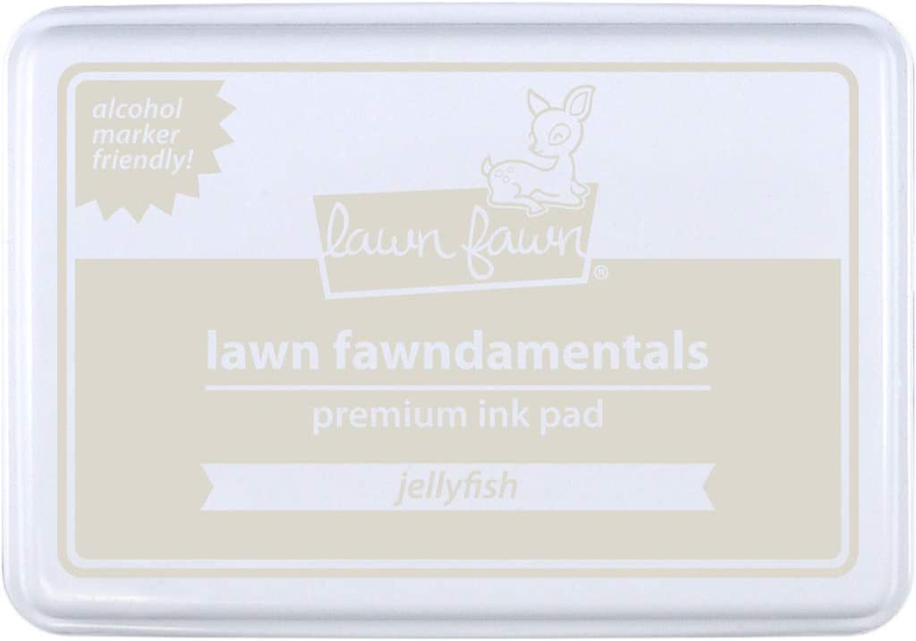 Lawn Fawn LF2272 Some reservation Jellyfish Pad Ink Premium Fawndamentals Excellence