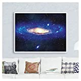 Milky Way Galaxy Space Poster for Classroom Office Home Decor Space Stars...