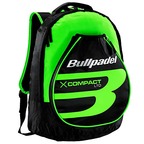 Bullpadel Mochila X-Compact Verde Flúor
