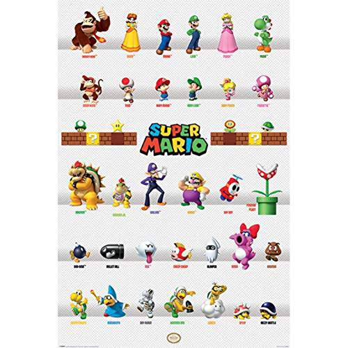 Nintendo Maxi-Poster, mehrfarbig, 61 x 91,5 cm